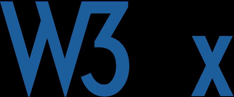 The World Wide Web Consortium (W3C)  logo